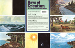 Bible Truths K5 Days of Creation Visual Packet