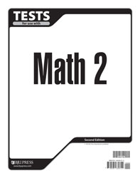 Math 2 Tests (tests only; for 1 student) (2nd ed.)