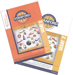 Practice Test Kit Stanford: K5 Spring-Grade 1 Fall (SESAT 2, teacher & student)
