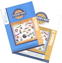 Practice Test Stanford Kit: Grade 2 Spring-Grade 3 Fall (Primary 2, teacher & student)