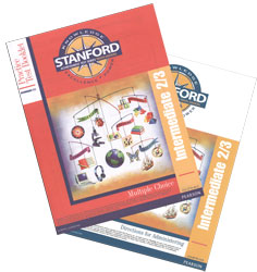 Practice Test Stanford Kit: Grade 5 Spring-Grade 7 Fall (Intermediate 2/3, teacher & student)