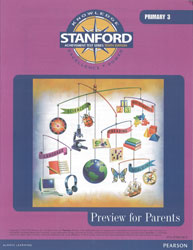 Stanford Preview for Parents (Grade 3): Primary 3