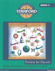 Stanford Preview for Parents (Grades 7-8): Advanced 1/2