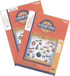 K5 Spring-Grade 1 Fall Stanford (SESAT 2 test kit)