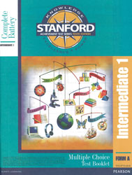 Stanford Grade 4 Spring-Grade 5 Fall (Intermediate 1 test)