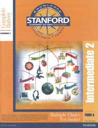Stanford Grade 5 Spring-Grade 6 Fall (Intermediate 2 test)