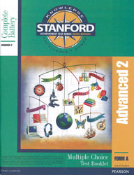 Stanford Grade 8 Spring-Grade 9 Fall (Advanced 2 test)