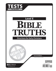 Bible Truths E Tests Answer Key (2nd ed.)