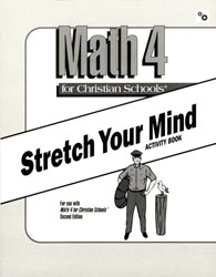 Math 4 Stretch Your Mind Activity Book (consumable)