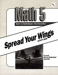 Math 5 Spread Your Wings Activity Book (consumable)