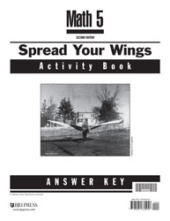 Math 5 Spread Your Wings Activity Book Answer Key