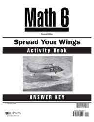 Math 6 Spread Your Wings Activity Book Answer Key (2nd ed.)