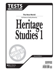 Heritage Studies 1 Tests Answer Key (2nd ed.)