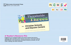 Thresholds for Threes Teacher's Resource File
