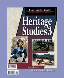Heritage Studies 3 Home Teacher's Edition (2nd ed.)