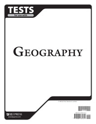 Geography Tests (tests only; for 1 student)