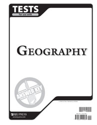 Geography Tests Answer Key (2nd ed.)