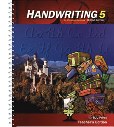 Handwriting 5 Teacher's Edition (2nd ed.)