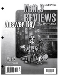 Math 3 Reviews Activity Book Answer Key