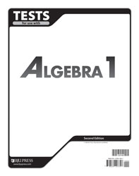 Algebra 1 Tests (2nd ed.)