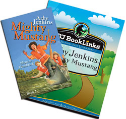 BJ BookLinks: Arby Jenkins, Mighty Mustang Set (guide & novel)
