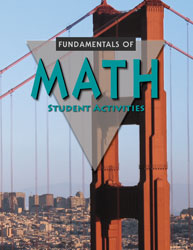 Fundamentals of Math Student Activities