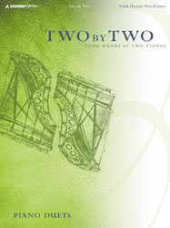 Two by Two (advanced/4 hands, 2 pianos)