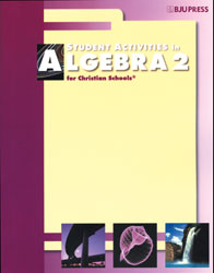 Algebra 2 Student Activities Manual (2nd ed.)