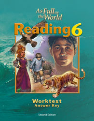 Reading 6 Worktext Teacher's Edition (2nd ed.)