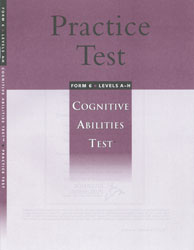 Practice Test Student Only CogAT: Grades 3-12 (Levels A-H, additional student)