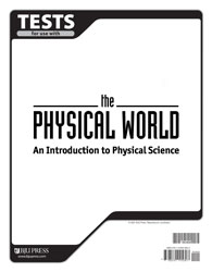 Physical World Tests (tests only; for 1 student)