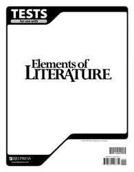 Elements of Literature Tests