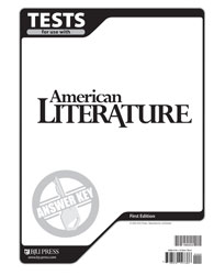 American Literature Tests Answer Key (Updated Version; 2nd ed.)