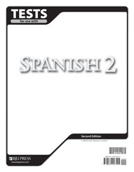 Spanish 2 Tests (tests only), 2nd ed.