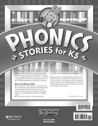 Beginnings K5 Phonics Stories (3rd ed.)