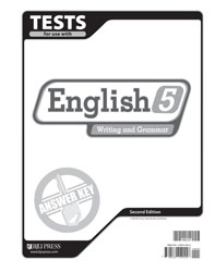 English 5 Tests Answer Key (2nd ed.)