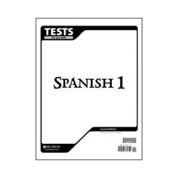 Spanish 1 Tests (5 pk) (2nd ed.)
