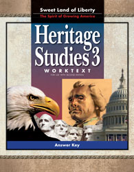 Heritage Studies 3 Student Worktext Answer Key (2nd ed.)