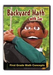 Backyard Math with  Zac [DVD]