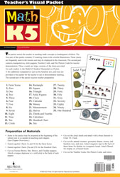 Math K5 Teacher's Visual Packet (3rd ed.)