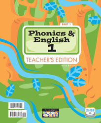 Phonics and English 1 Teacher's Edition with CD (3rd ed.; 2 vols.)