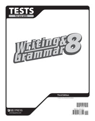Writing & Grammar 8 Tests (3rd ed.)