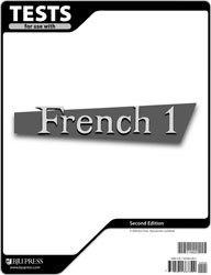 French 1 Tests (5 pk) (2nd ed.)