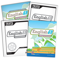 English 5 Subject Kit