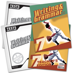 Writing & Grammar 7 Subject Kit