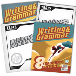 Writing & Grammar 8 Subject Kit