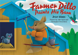 Farmer Dillo Paints His Barn