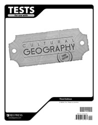 Cultural Geography Tests (3rd ed.)