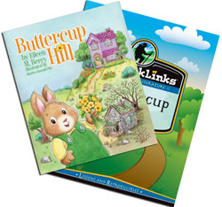 BJ BookLinks: Buttercup Hill Set (guide & novel)