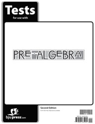 Pre-Algebra Tests (2nd ed.)